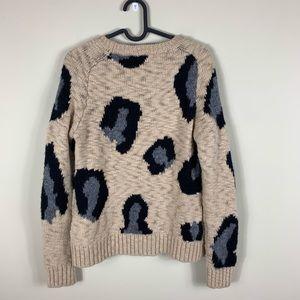 Anthropologie Sweaters - Anthropologie: guepardo leopard wool sweater
